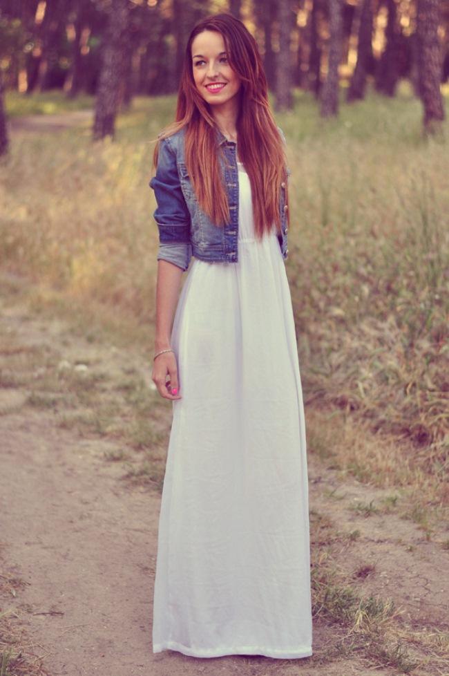 uzun-elbise-kot-ceket-kombini